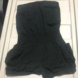 Black romper size medium
